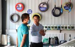 校企合作 互利共赢 | 兰州车企慕名到访甘肃新万博manbetxapp寻求人才合作